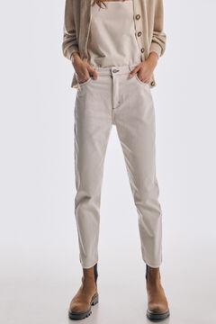Pedro del Hierro Mom fit jeans Beige