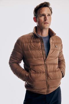 Pedro del Hierro Ultralight quilted jacket Beige