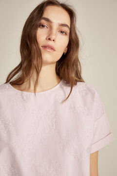 Pedro del Hierro Embroidered t-shirt Pink