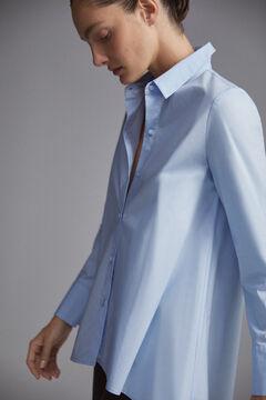 Pedro del Hierro Oversize shirt blouse Blue