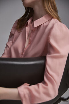 Pedro del Hierro Blouse with gathered sleeves Pink