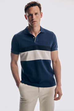 Pedro del Hierro Fantasy short-sleeved polo shirt Blue