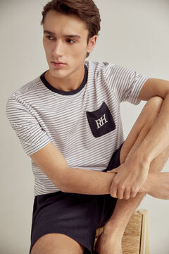 Pedro del Hierro Jersey-knit pyjamas White