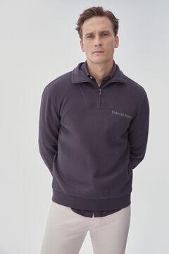 Pedro del Hierro Turtleneck sweatshirt Grey