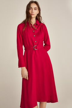 Pedro del Hierro Shirt dress  Red