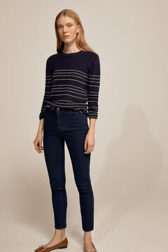 Pedro del Hierro Sparkly slim fit jeans Blue