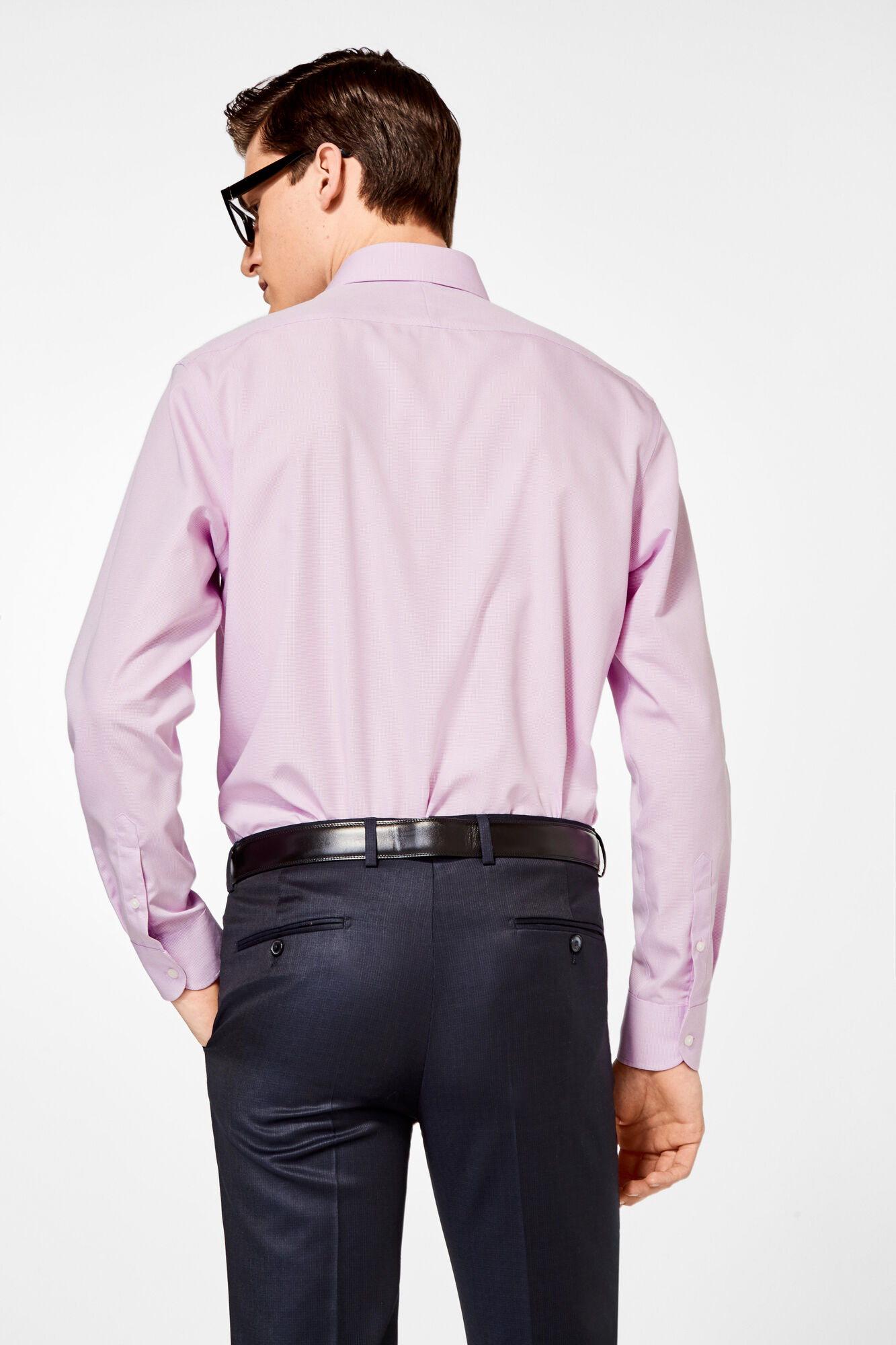 False plain classic dress shirt  e49b164db49