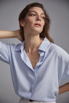 Pedro del Hierro Oversize shirt Blue