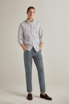 Pedro del Hierro Pantalón vaquero TX Protect premium flex 5 bolsillos color slim Azul