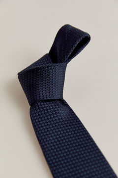 Pedro del Hierro Corbata estructura Azul