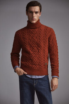 Pedro del Hierro Roll-neck jumper  Red