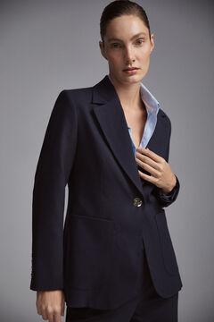 Pedro del Hierro Lapel blazer  Blue