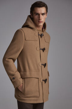 Pedro del Hierro Duffle coat Beige
