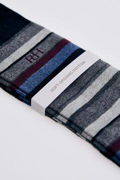 Pedro del Hierro Stripy logo socks Red