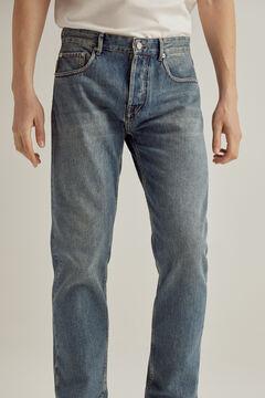 Pedro del Hierro Authentic fit jeans medium wash Blue
