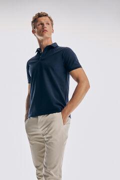 Pedro del Hierro Camisa pólo de manga curta Azul