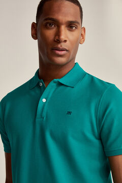 Pedro del Hierro Essential short-sleeved polo shirt Green