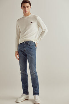 Pedro del Hierro Premium Flex Slim jeans in a dark wash Blue