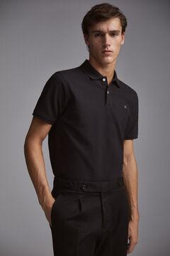 Pedro del Hierro Smoothpoloshirt Black