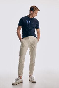 Pedro del Hierro Logo short sleeve t-shirt Blue