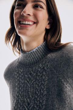 Pedro del Hierro Jersey oversize perkins aranes Grey