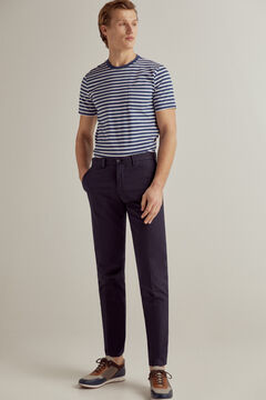 Pedro del Hierro Essential slim fit pima chinos Blue