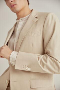 Pedro del Hierro Americana beige slim fit Beige