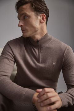 Pedro del Hierro Turtleneck jumper  Brown