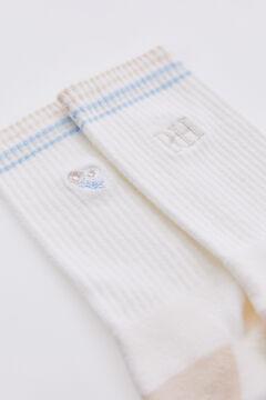 Pedro del Hierro Organic cotton socks Brown