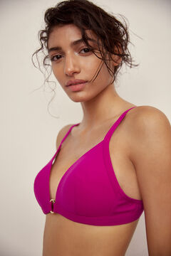 Pedro del Hierro Top bikini push up Rosa