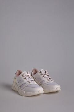 Pedro del Hierro White Chunky Sneakers White