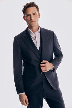 Pedro del Hierro Tailored fit blue blazer Blue