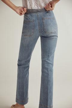 Pedro del Hierro Flared jeans Blue