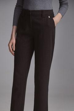 Pedro del Hierro Ponte Roma dress trousers Grey
