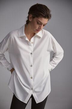 Pedro del Hierro Oversize shirt Beige