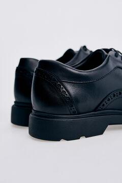 Pedro del Hierro Rubber sole urban shoe Black