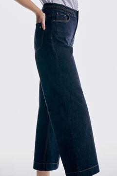 Pedro del Hierro Wide leg jeans Blue