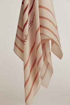 Pedro del Hierro Pleated shawl Ecru