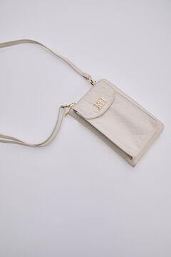 Pedro del Hierro Wallet-style bag Beige
