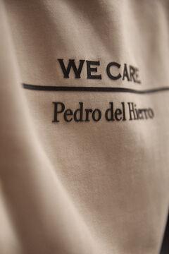 Pedro del Hierro Sudadera logo eco Brown