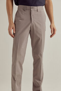 Pedro del Hierro Essential regular fit pima chinos  Grey