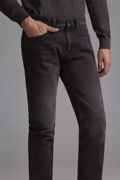 Pedro del Hierro Black regular fit premium flex jeans Black