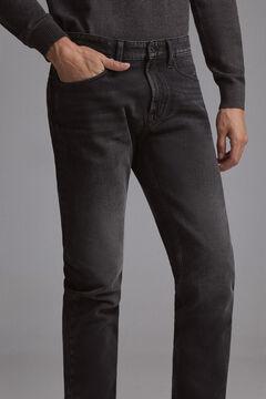Pedro del Hierro Jeans premium flex regular pretos Preto