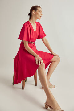 Pedro del Hierro Short crossover dress Red