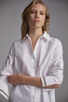 Pedro del Hierro White shirt with appliqué White