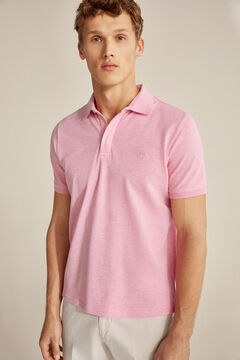 Pedro del Hierro Short-sleeved polo shirt Pink