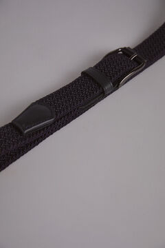 Pedro del Hierro Woven belt Grey