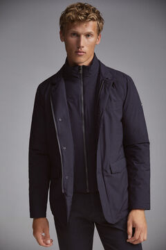 Pedro del Hierro Ultralight travel jacket with lining Blue