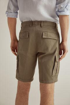Pedro del Hierro Cargo Bermuda shorts Grey