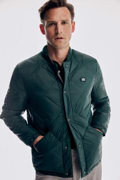 Pedro del Hierro Reversible bomber jacket Green